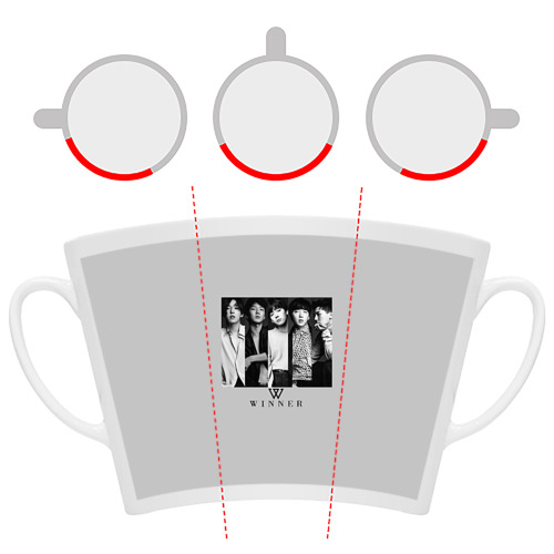 Кружка Латте  Фото 06, Winner K-Pop