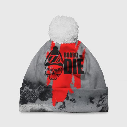 Шапка 3D c помпоном  Фото 01, Snowboarding