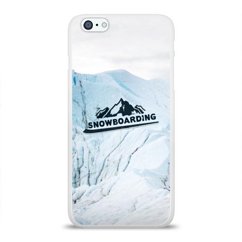 Чехол для Apple iPhone 6Plus/6SPlus силиконовый глянцевый  Фото 01, Snowboarding