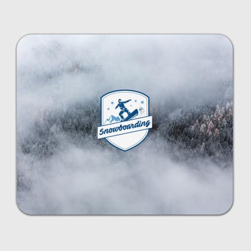 Коврик прямоугольный  Фото 01, Snowboarding