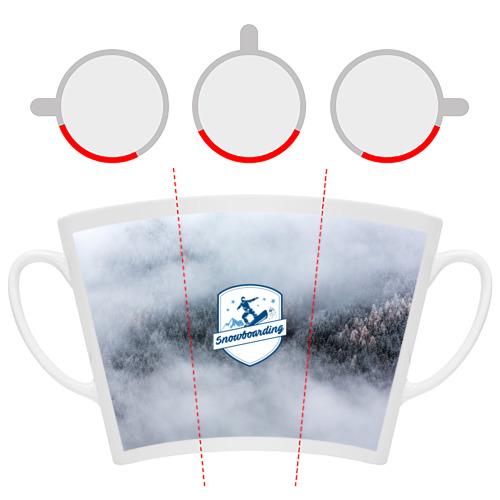 Кружка Латте  Фото 06, Snowboarding