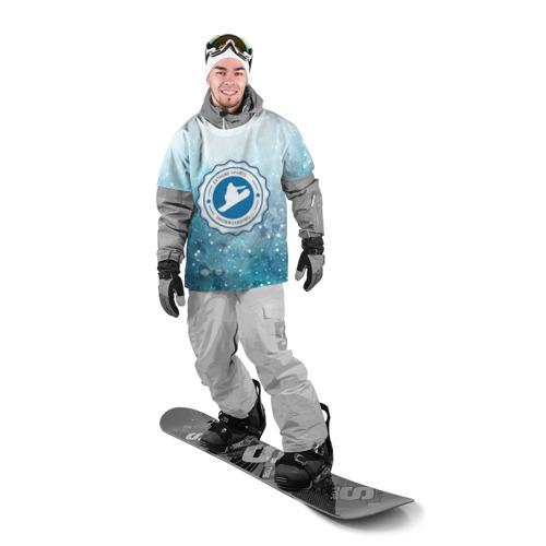 Накидка на куртку 3D  Фото 03, Snowboarding