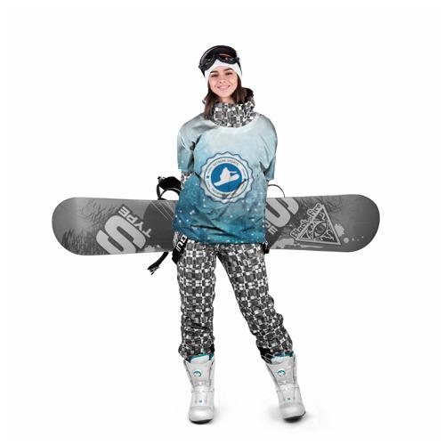 Накидка на куртку 3D  Фото 05, Snowboarding