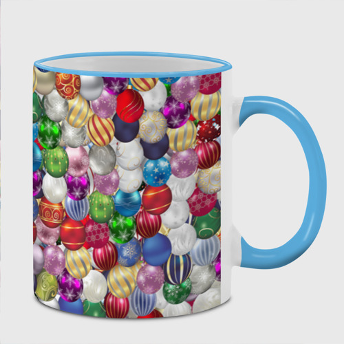 Кружка с полной запечаткой  Фото 02, Елочнные шары