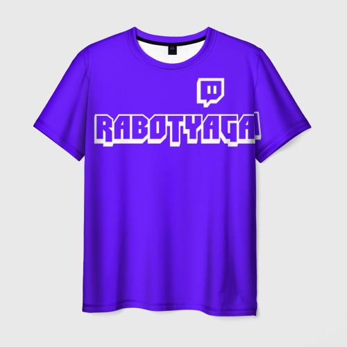 Мужская футболка 3D  Фото 03, Работяга