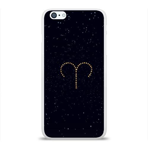 Чехол для Apple iPhone 6Plus/6SPlus силиконовый глянцевый  Фото 01, Овен и звезды