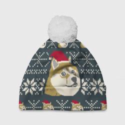 Doge новогодний