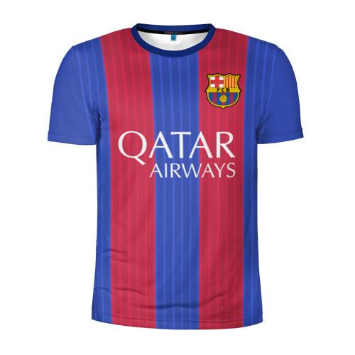 Мужская футболка 3D спортивная Neymar (форма)