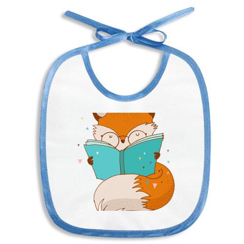 Лисица с книгой