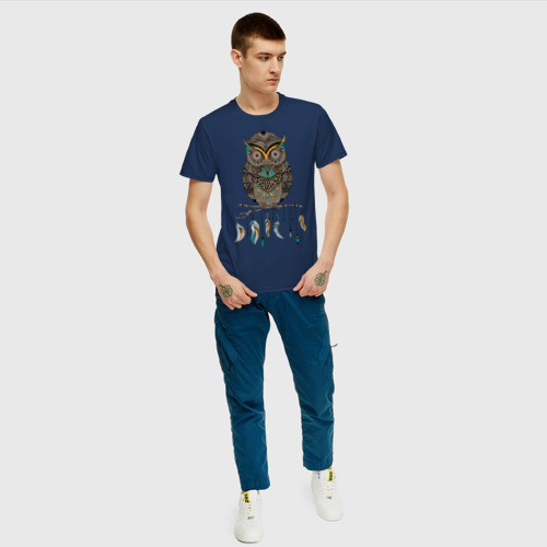 Мужская футболка хлопок Совушка Фото 01