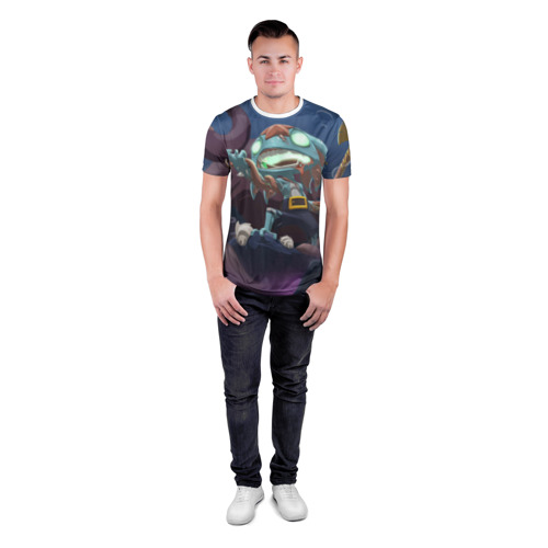 Мужская футболка 3D спортивная  Фото 04, Fizz