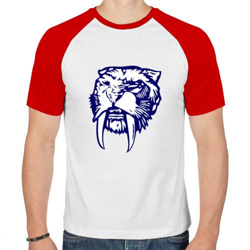 Мужская футболка реглан  Фото 01, Саблезуб