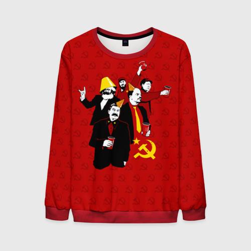 Мужской свитшот 3D Communist Party Фото 01