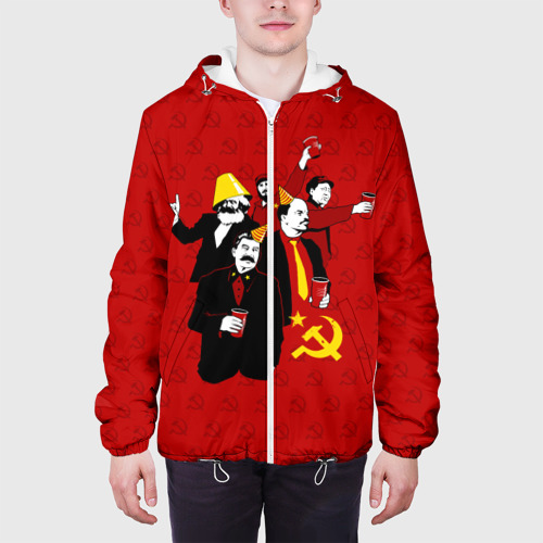 Мужская куртка 3D  Фото 04, Communist Party