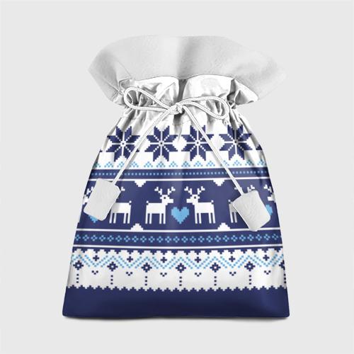 Подарочный 3D мешок Скандинавские олени