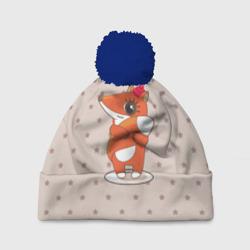Лисенок в шапочке