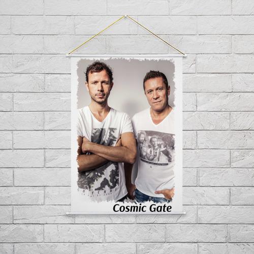 Тканевый плакат  Фото 02, Cosmic Gate