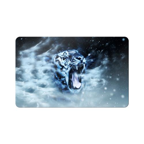 Магнит виниловый Visa  Фото 01, Белый тигр