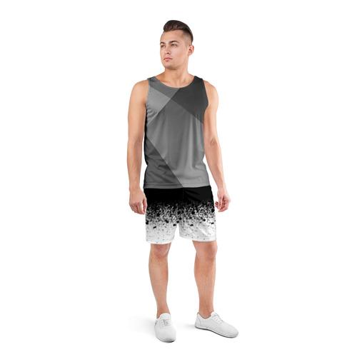 Мужские шорты 3D спортивные  Фото 04, необычный дизайн