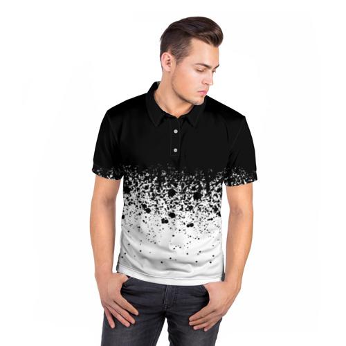 Мужская рубашка поло 3D  Фото 05, необычный дизайн