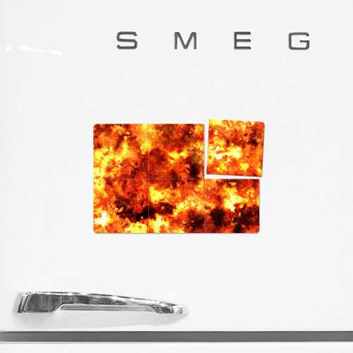 Магнитный плакат 3Х2  Фото 02, Взрывной гранж