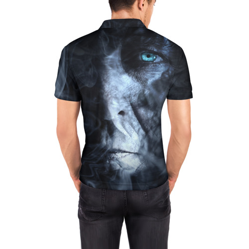 Мужская рубашка поло 3D  Фото 04, Дым