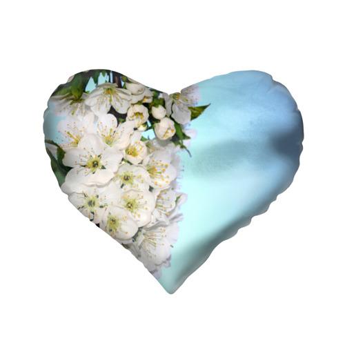 Подушка 3D сердце  Фото 02, Сакура