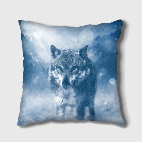 Подушка 3D  Фото 01, Волк