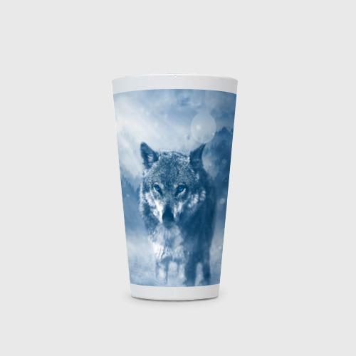 Кружка Латте  Фото 03, Волк