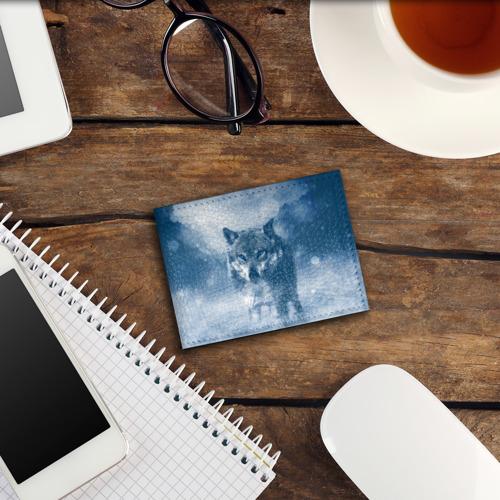 Обложка для студенческого билета Волк Фото 01