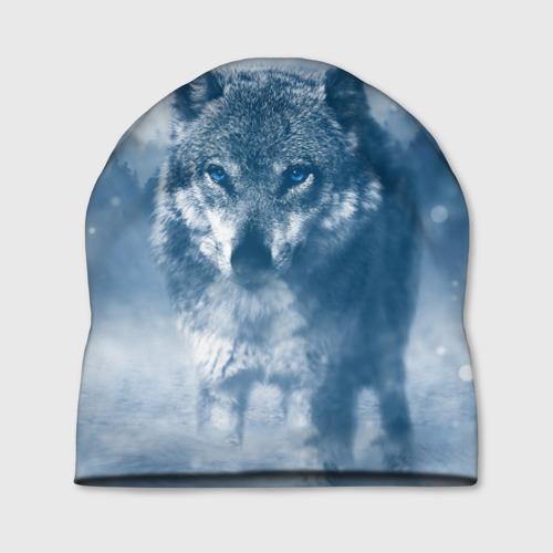 Шапка 3D Волк Фото 01
