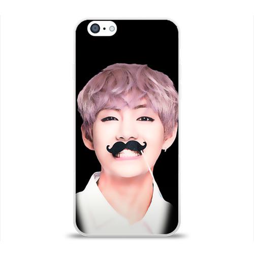 Чехол для Apple iPhone 6 силиконовый глянцевый  Фото 01, Taehyung