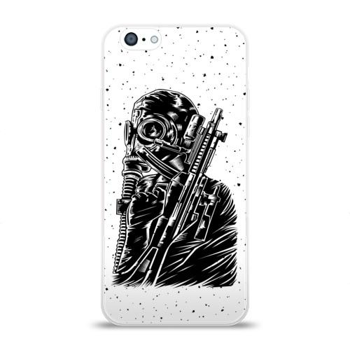 Чехол для Apple iPhone 6 силиконовый глянцевый  Фото 01, К бою готов