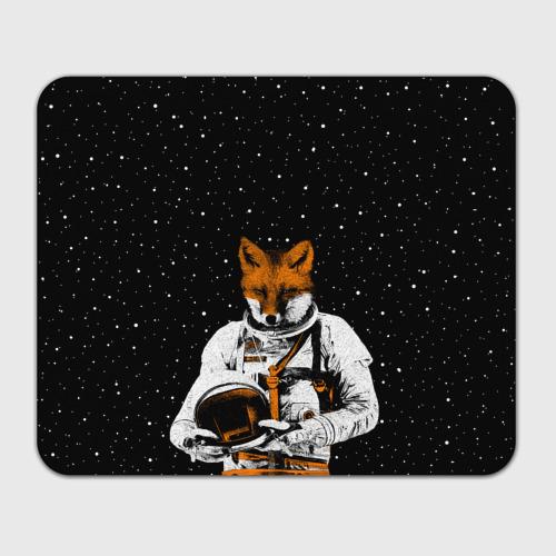 Коврик для мышки прямоугольный  Фото 01, Лис космонавт