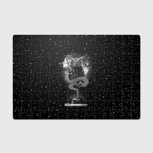 Пазл магнитный 126 элементов  Фото 01, Ночная сова