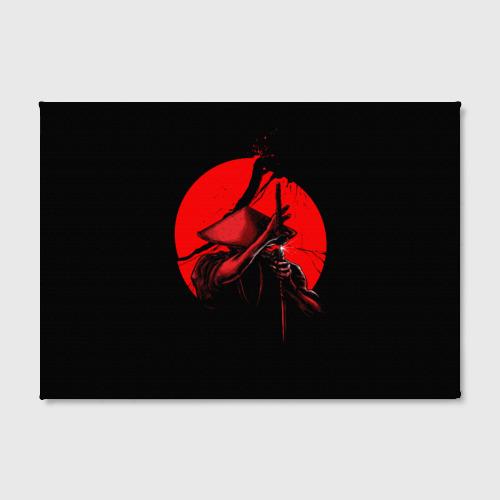 Холст прямоугольный  Фото 02, Сила самурая