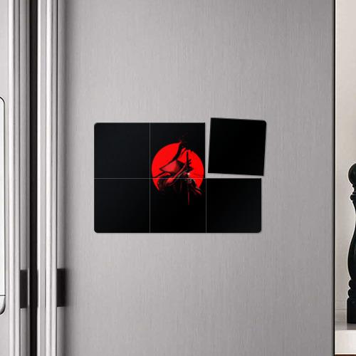 Магнитный плакат 3Х2  Фото 04, Сила самурая
