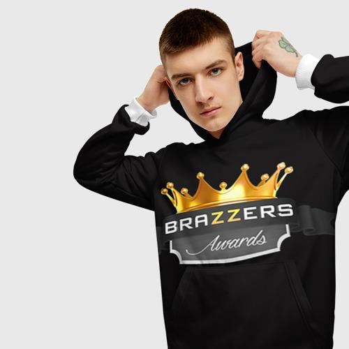 Мужская толстовка 3D Brazzers awards