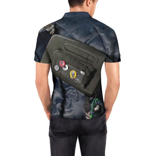 Мужская рубашка поло 3D Watch Dogs 2
