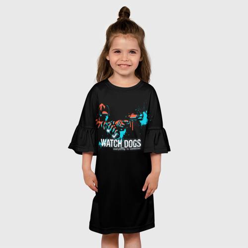 Детское платье 3D  Фото 01, Watch Dogs 2