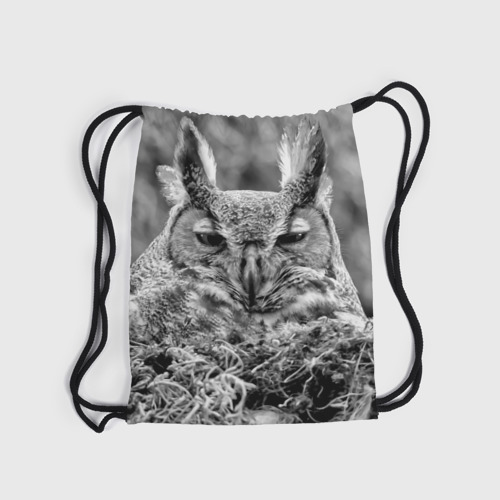 Рюкзак-мешок 3D  Фото 04, Филин