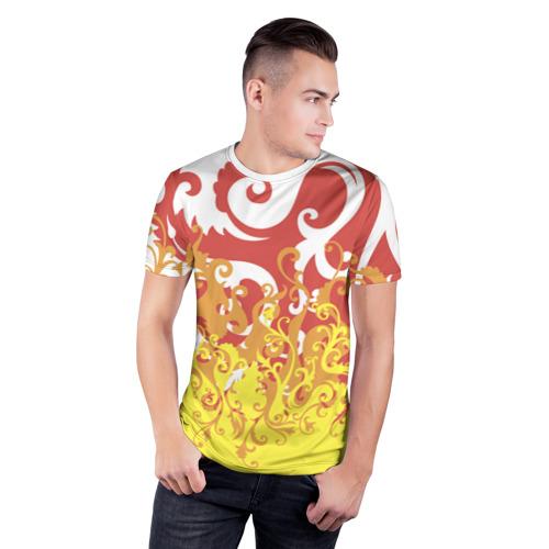 Мужская футболка 3D спортивная  Фото 03, Агония страсти