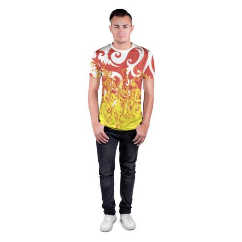 Мужская футболка 3D спортивная  Фото 04, Агония страсти