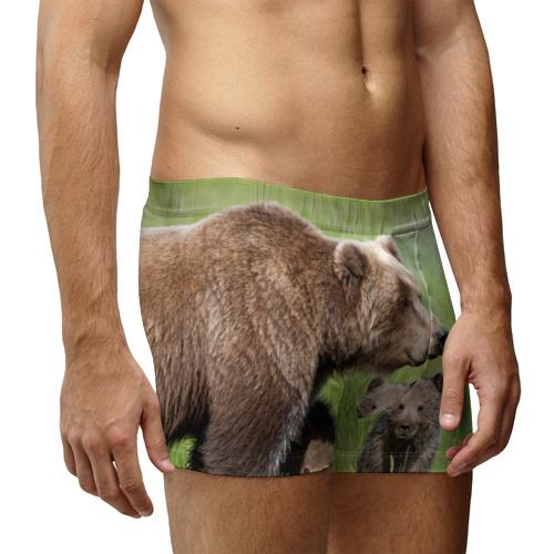 Мужские трусы 3D  Фото 03, Медведи