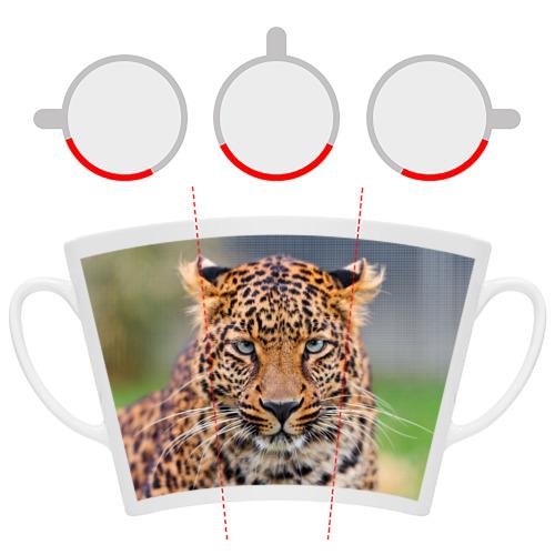 Кружка Латте  Фото 06, Леопард