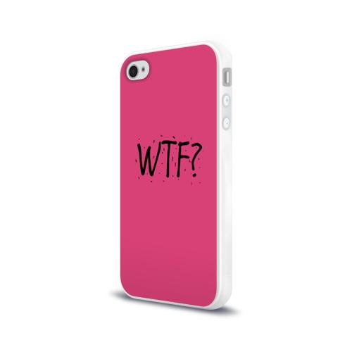 Чехол для Apple iPhone 4/4S силиконовый глянцевый  Фото 03, WTF?