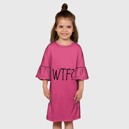 Детское платье 3D  Фото 01, WTF?