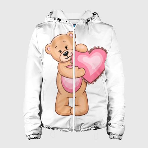 Женская куртка 3D  Фото 01, Teddy Bear