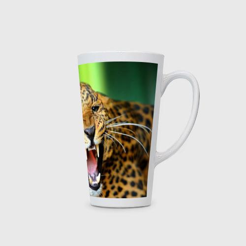 Кружка Латте  Фото 02, Леопард