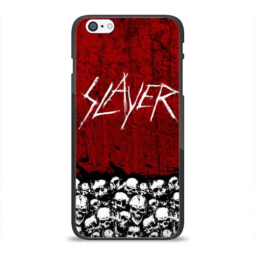 Чехол для Apple iPhone 6Plus/6SPlus силиконовый глянцевый  Фото 01, Slayer Red